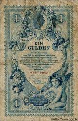 1 Gulden AUTRICHE  1888 P.A156 B+