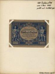 100 Gulden AUTRICHE  1880 P.002s SUP+
