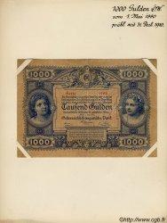 1000 Gulden AUTRICHE  1880 P.003s TTB+