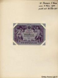 10 Kronen AUTRICHE  1900 P.004s SUP+