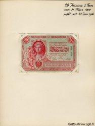 20 Kronen AUTRICHE  1900 P.005s SUP+