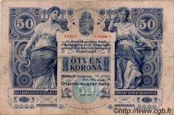 50 Kronen AUTRICHE  1902 P.006 B+