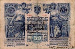 50 Kronen AUTRICHE  1902 P.006 TB