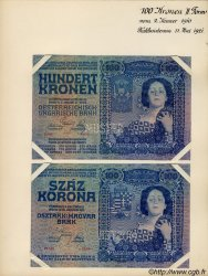 100 Kronen AUTRICHE  1910 P.011s SPL