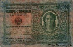 100 Kronen AUTRICHE  1912 P.012 TTB