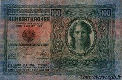 100 Kronen AUTRICHE  1912 P.012 pr.SPL