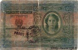 100 Kronen AUTRICHE  1912 P.012v B+