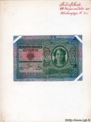 100 Kronen AUTRICHE  1912 P.012x pr.TTB