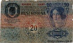 20 Kronen AUTRICHE  1913 P.013 B