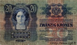 20 Kronen AUTRICHE  1913 P.013 TB+