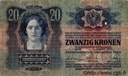 20 Kronen AUTRICHE  1913 P.013 TTB