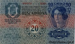 20 Kronen AUTRICHE  1913 P.013 SPL
