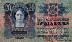 20 Kronen AUTRICHE  1913 P.013s NEUF