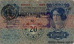 20 Kronen AUTRICHE  1913 P.013v B+