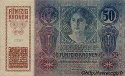 50 Kronen AUTRICHE  1914 P.015 TTB+