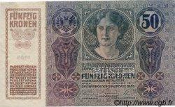 50 Kronen AUTRICHE  1914 P.015s pr.NEUF