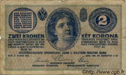 2 Kronen AUTRICHE  1914 P.017b B