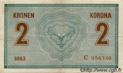 2 Kronen AUTRICHE  1914 P.017b TTB+
