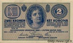 2 Kronen AUTRICHE  1914 P.017b SUP