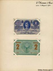 2 Kronen AUTRICHE  1914 P.017bs SPL