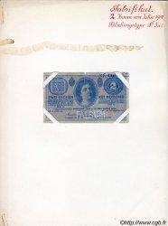 2 Kronen AUTRICHE  1914 P.017x B