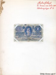 2 Kronen AUTRICHE  1914 P.017x pr.TB