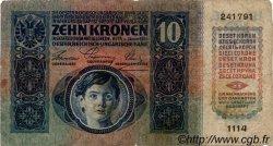 10 Kronen AUTRICHE  1915 P.019 B+