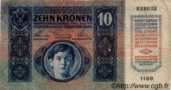 10 Kronen AUTRICHE  1915 P.019 TB