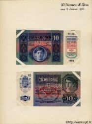 10 Kronen AUTRICHE  1915 P.019s pr.NEUF