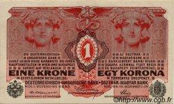 1 Krone AUTRICHE  1916 P.020 SPL+