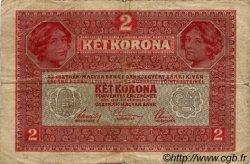 2 Kronen AUTRICHE  1917 P.021 B+