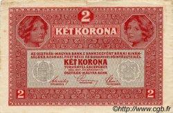2 Kronen AUTRICHE  1917 P.021 TTB
