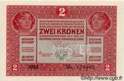 2 Kronen AUTRICHE  1917 P.021s NEUF
