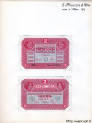 2 Kronen AUTRICHE  1917 P.021s pr.NEUF