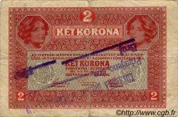 2 Kronen AUTRICHE  1917 P.021v TB