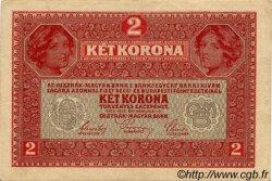 2 Kronen AUTRICHE  1917 P.021v pr.SUP