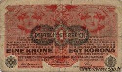 1 Krone AUTRICHE  1919 P.049 B