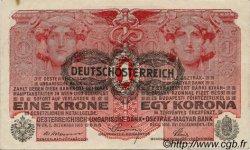 1 Krone AUTRICHE  1919 P.049 SUP