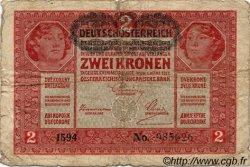 2 Kronen AUTRICHE  1919 P.050 B