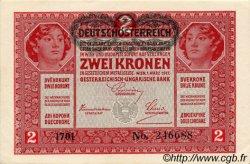 2 Kronen AUTRICHE  1919 P.050 pr.NEUF