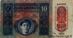 10 Kronen AUTRICHE  1919 P.051a B