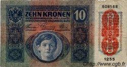 10 Kronen AUTRICHE  1919 P.051a TB