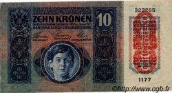 10 Kronen AUTRICHE  1919 P.051a TTB