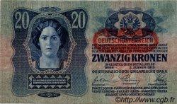 20 Kronen AUTRICHE  1919 P.052 TTB+
