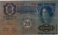 20 Kronen AUTRICHE  1919 P.053a TTB
