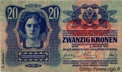 20 Kronen AUTRICHE  1919 P.053a pr.NEUF