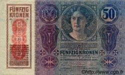 50 Kronen AUTRICHE  1919 P.054a TTB