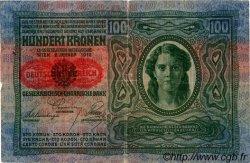 100 Kronen AUTRICHE  1919 P.055a TB
