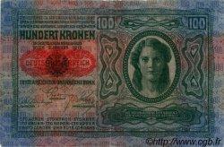100 Kronen AUTRICHE  1919 P.055a TTB+