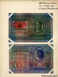 100 Kronen AUTRICHE  1919 P.055s SPL